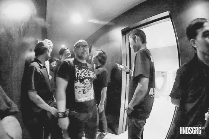 Seringai: Backstage | Hendisgorge